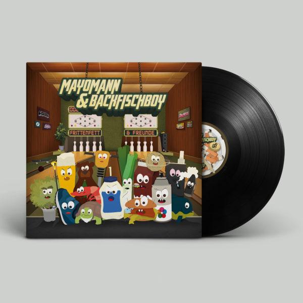 Mayomann & Backfischboy - Frittenfett & Freunde